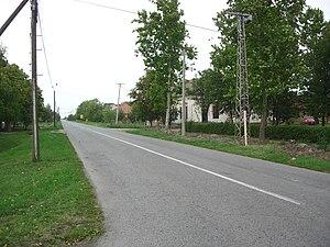 Sutjeska, Sečanj - Image: Sutjeska, street detail
