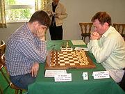 Svidler,Peter und Hickl,Jörg 2005 Porz