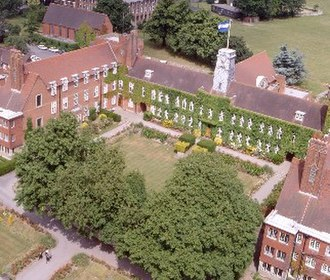 Sutton Valence School - Image: Svs from above