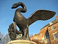Swan sculpture, Worcester - geograph.org.uk - 1145731.jpg