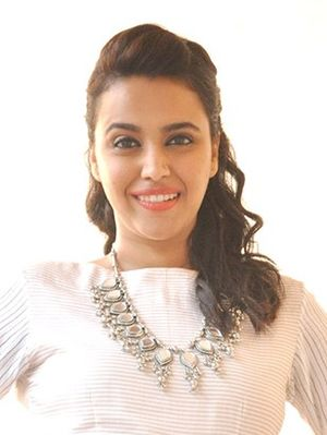 Nil Battey Sannata - Image: Swara Bhaskar promotes her movie 'Nil Battey Sannata'