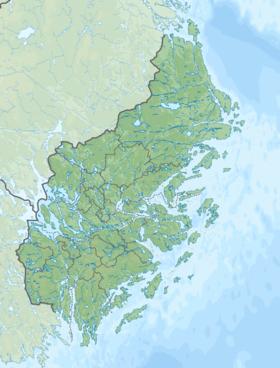 Voir la carte topographique du Stockholm
