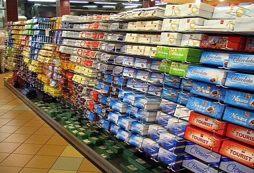 Swisschocolateinsupermarket