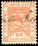 Switzerland Bern 1894 revenue 30c - 54 I-94 3-K.jpg