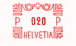 Switzerland stamp type BB6.jpg