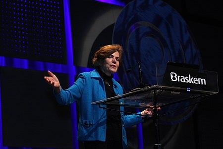 Sylvia Earle geen Fronteiras do Pensamento Porto Alegre 2011 (6207936274) .jpg