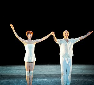 Sylvie Guillem - Sylvie Guillem and Russell Maliphant in 2010