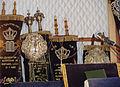 Synagogue de Saint-Avold, Rouleaux de la Torah..jpg
