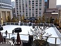 Synthetic ice rink in Chicago (16291776612).jpg