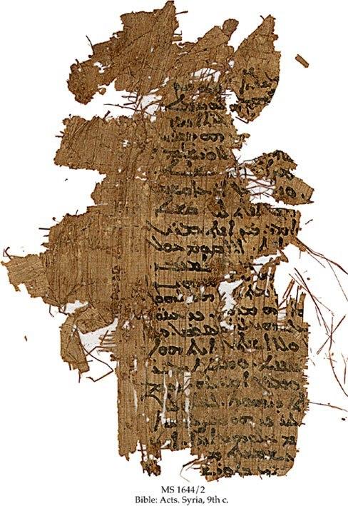Syriac papyri