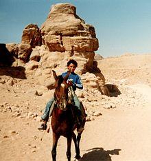 Junger Reiter In Der Syrischen Wüste (1996)