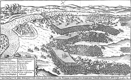 June 22: Battle of Sisak Sziszeki csata (1593).JPG