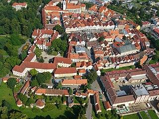 Třeboň Town in South Bohemian, Czech Republic