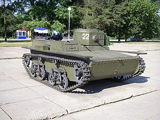 T-38 tank - T-38 tank