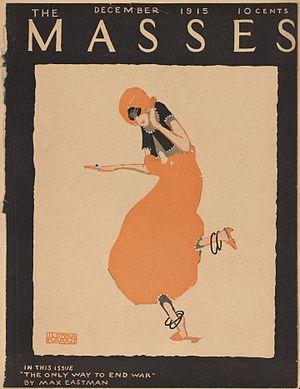 Ilonka Karasz - Cover by Ilonka Karasz, The Masses, December 1915.