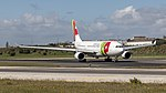 TAP A330-200 just arrived at Lisbon airport (46832254844).jpg