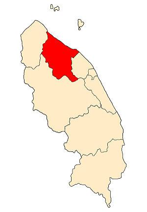 Setiu District - Image: TG District Setiu