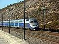 TGV Réseau Duplex 618 (LGV Méditerranée, Bouches-du-Rhône, France).jpg