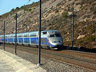 SNCF TGV Duplex - Réseau Duplex on the LGV Méditerranée