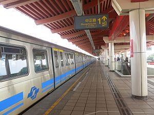 Tamsui Station - Tamsui Station platform