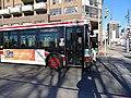 TTC bus 7858 heading east on the Esplanade at Sherbourne, 2014 12 07 (4) (15352309143).jpg