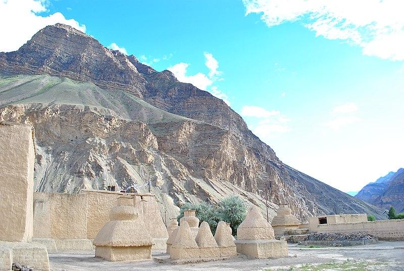 File:Tabo monastery and surroundings 1.jpg