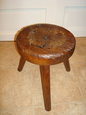 Stool (seat) - Milking stool