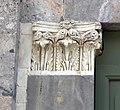 Taglia di biduino, portale laterale della pieve dei Santi Ippolito e Cassiano (San Casciano di Cascina), xii secolo, 02.jpg