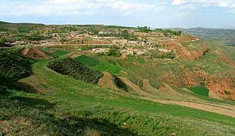 Taktser - View of the village of Taktser