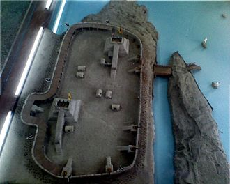Taku Forts - Image: Taku fort model