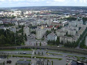 Tampere from Näsinneula tower.jpg