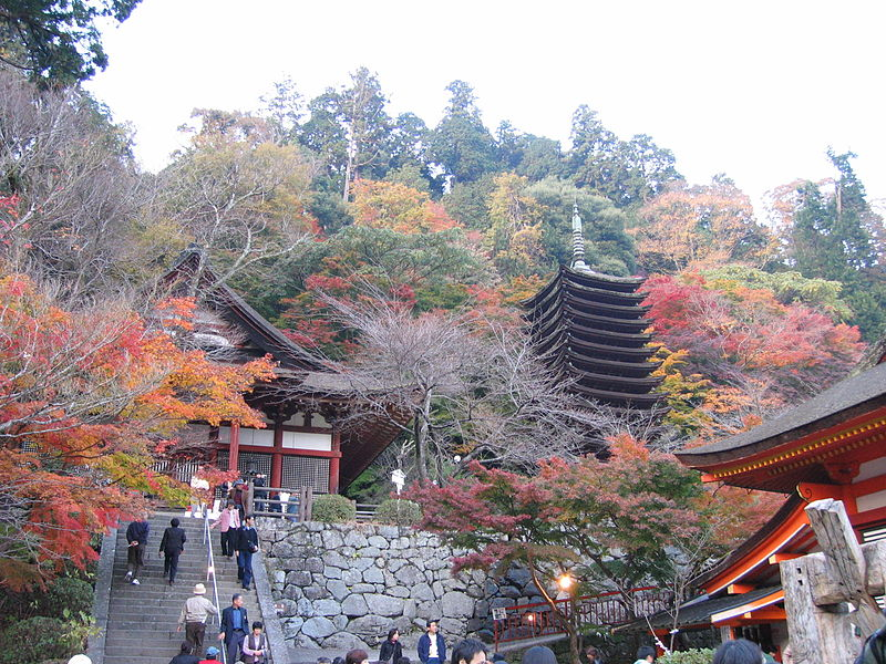 紅葉の談山神社