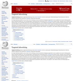 Wikipedia-Vergleich von Online-Dating-Seiten