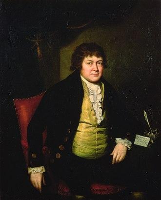 Tate Wilkinson - Portrait of Wilkinson, by Stephen Hewson