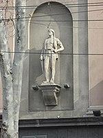 Tbilisi, Rustaveli cinema statue 3.JPG