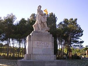 """El Bruc - """"The Drummer"""" monument, el Bruc"""