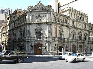 Teatro Nacional Cervantes - The Cervantes Theatre, Buenos Aires.