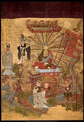 Tejaprabhā Buddha and the Five Planets
