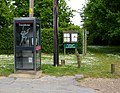 Telephone box and footpath signs - geograph.org.uk - 1305711.jpg