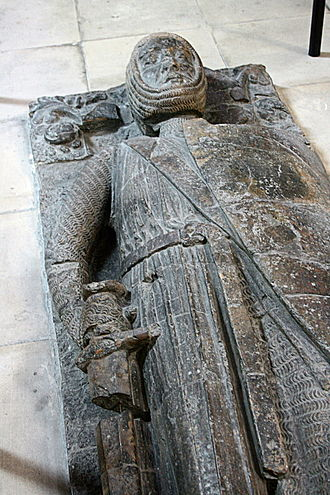 William Marshal, 1st Earl of Pembroke - Tomb effigy of William Marshal in Temple Church, London