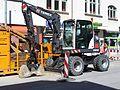 Terex TW70 excavator in Munich.jpg