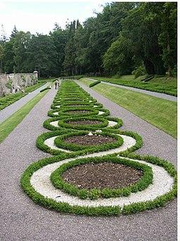 Terrace garden, Woodstock, Inistioge, Co. Kilkenny - geograph.org.uk - 205294