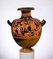 Terracotta hydria- kalpis (water jar) MET DP117042.jpg