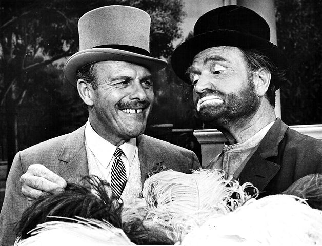 Terry-Thomas and Red Skelton, 1967.jpg