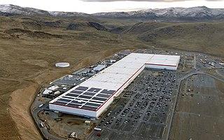 Giga Nevada Lithium-ion battery factory