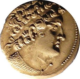 Ptolemy VIII Physcon - Image: Tetradrachm of Ptolemy VIII Physcon, Alexandria 138 137 BC