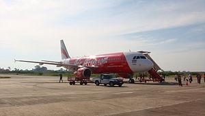 ThaiAirasia's A320-200 at NST.JPG