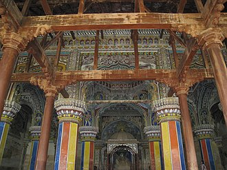 Thanjavur Maratha Palace - Image: Thanjavur Palace Interior