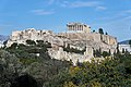 The Acropolis of Athens from Philopappos Hill on March 3, 2020.jpg