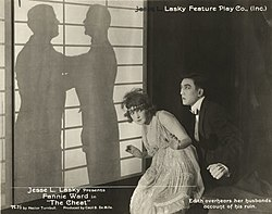 Fannie Ward a Sessue Hayakawa